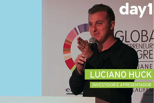 Luciano Huck - Day 1