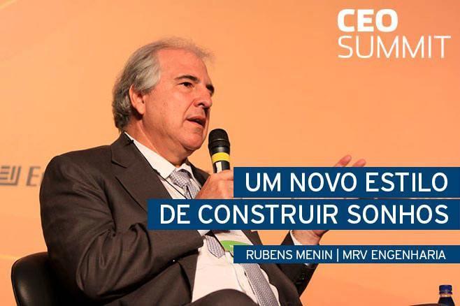 Um novo estilo de construir sonhos  Rubens Menin da MRV Engenharia no CEO Summit - Endeavor Brasil