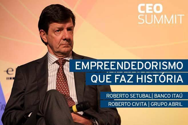Empreendedorismo que faz história com Roberto Setubal e Roberto Civita 1