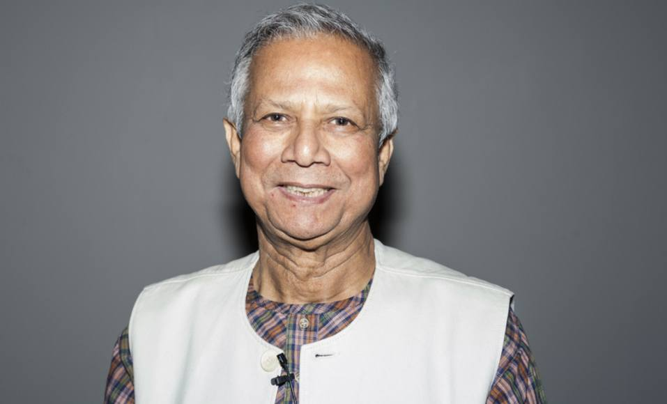 """Muhammad Yunus: """"Não chore por estar desempregado, crie seu emprego"""""""