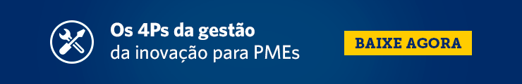 Os 4Ps da gestão da inovação para PMEs