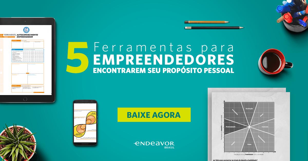 5 Ferramentas para Empreendedores encontrarem seu propósito pessoal - Post de link do facebook