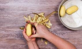 Bons empreendedores começam descascando batatas