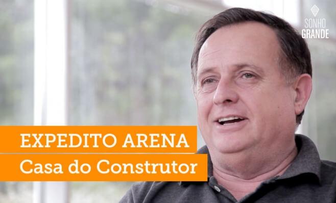 De ajudante de pedreiro a construtor de um legado - Expedito Arena, Casa do Construtor