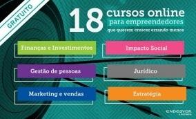 18 cursos online gratuitos empreendedorismo