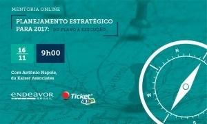 Mentoria Online | Planejamento Estratégico para 2017