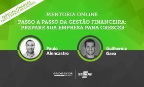 Inscreva-se gratuitamente para a Mentoria Online Gestão Financeira