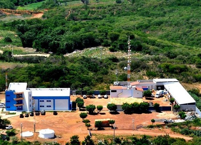 Sede da Brisanet em Pereiro, muito perto de onde Roberto Nasceu