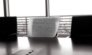 """""""Ninguém está trabalhando para o nosso futuro. Aquela cadeira está vazia"""""""