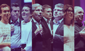 Caio Bonatto, Carlos e Noeli Bazanella, Luiz Seabra, Pedro Lima, José Renato Hopf, Paola Carosella, João Carlos Martins