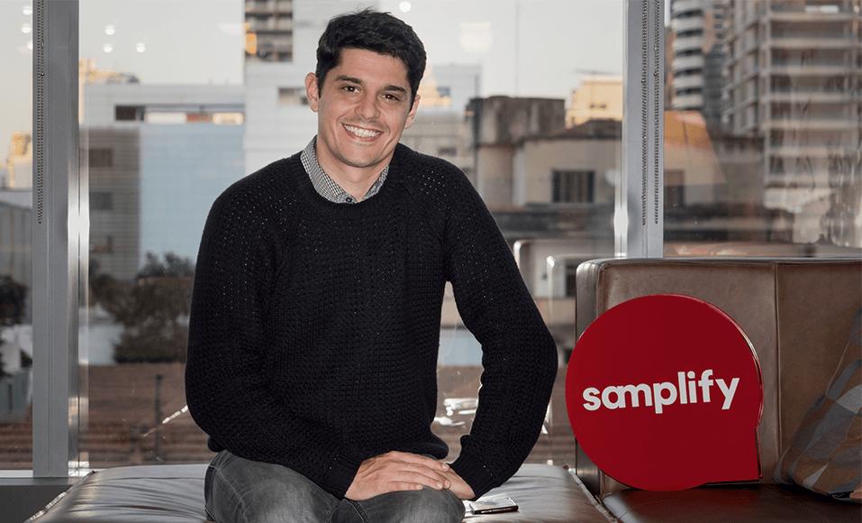 Ernesto Villela, empreendedor da Samplify