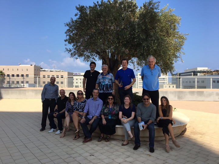 Registro da visita a Israel coordenada pela Endeavor Brasil