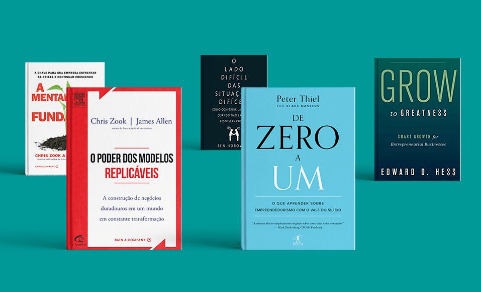 eBook | 5 Livros para Empreendedores de Alto Crescimento: as recomendações dos mentores Endeavor