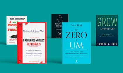 5 livros para empreendedores de alto crescimento: as recomendações dos Mentores Endeavor