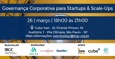 Governança Corporativa para Startups & Scale-ups