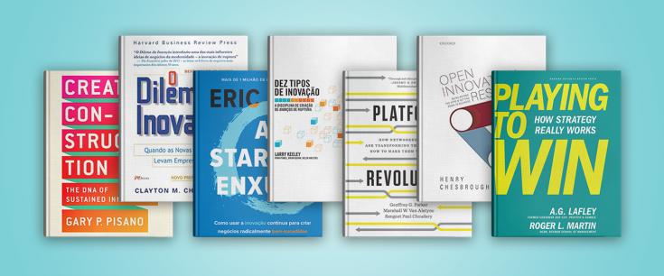 7 livros sobre Open Innovation que estamos lendo