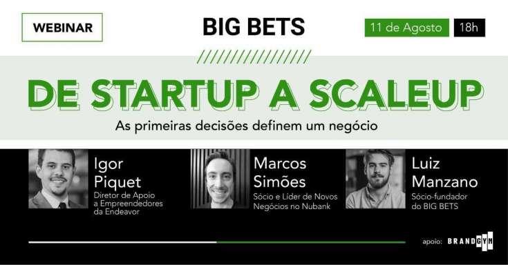 De startup a scale-up: as primeiras decisões definem um negócio